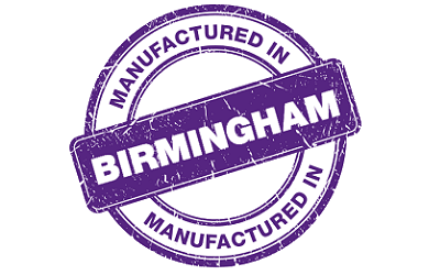 Manufactured In Birmingham Stamp