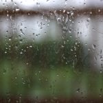 Raindrops on Window Pane