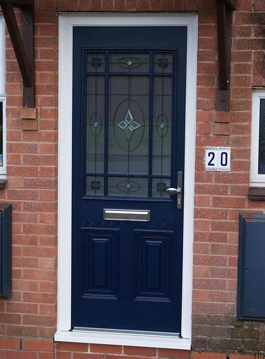 Front Door Black and Gold 3