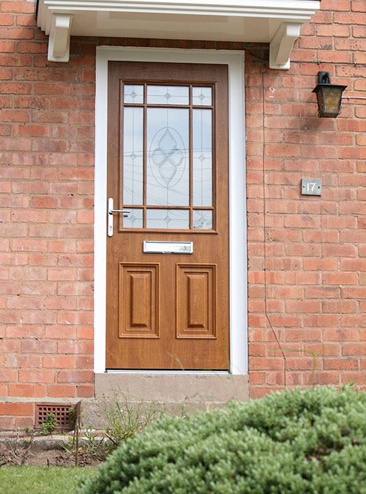 Front Door Brown Palladio