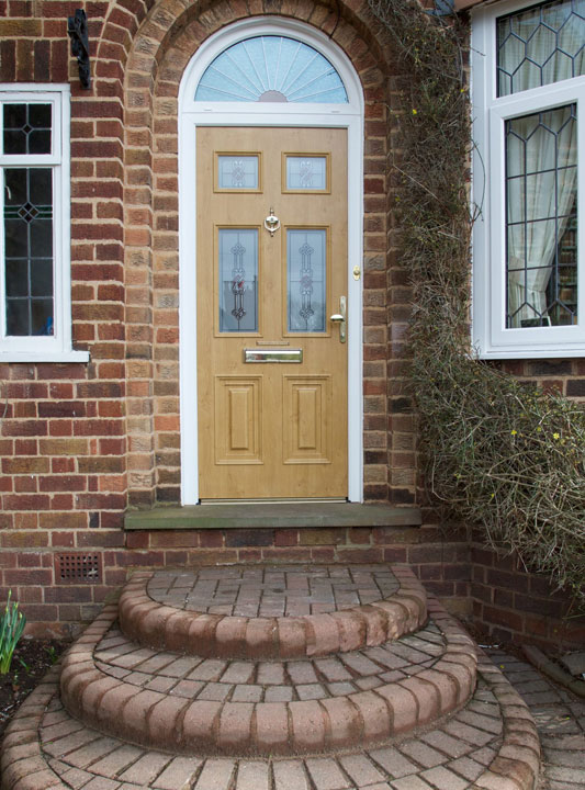 Front doors birmingham composite upvc front door for Brown upvc door