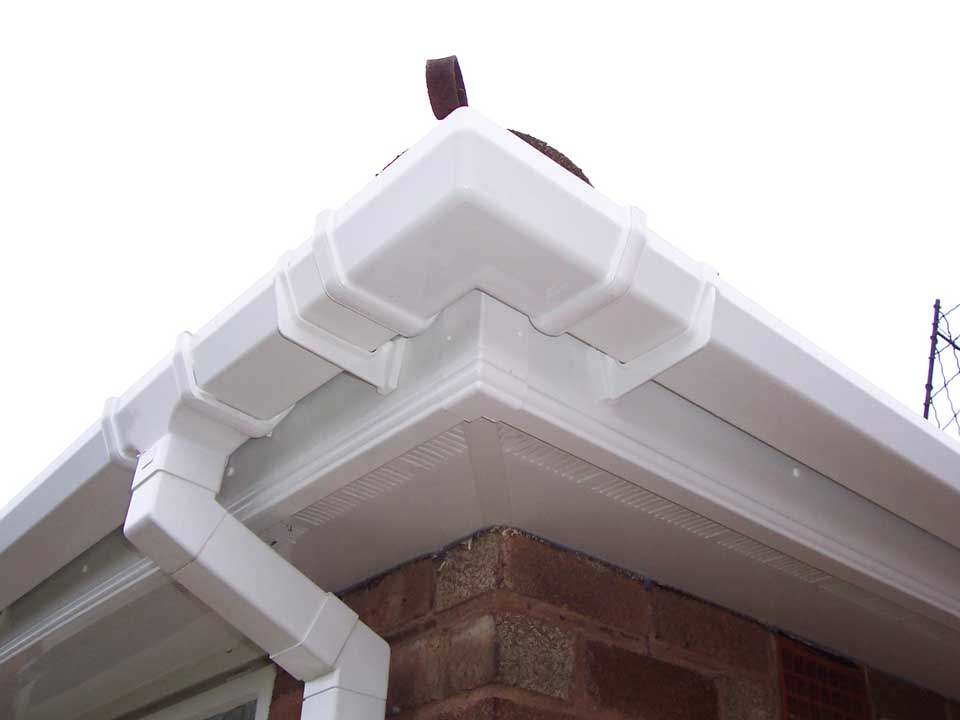 White Newly Improved Roofline