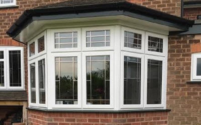 Bow bay windows double glazed windows birmingham uk for Discount bay windows