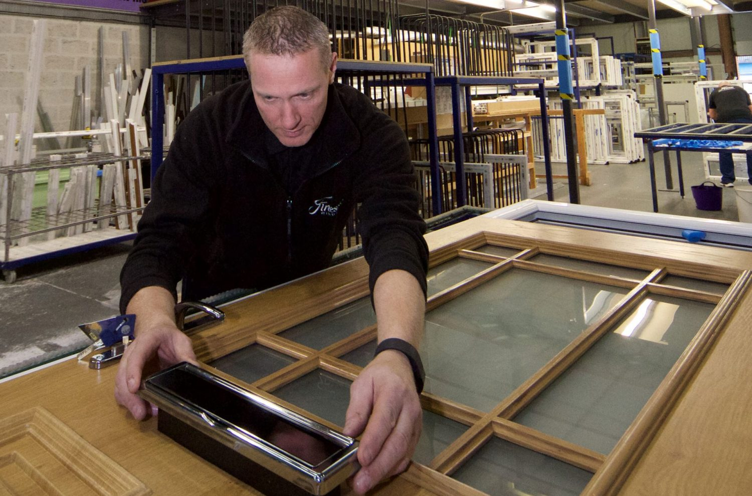 Finesse Windows Fitter Ensuring Quality