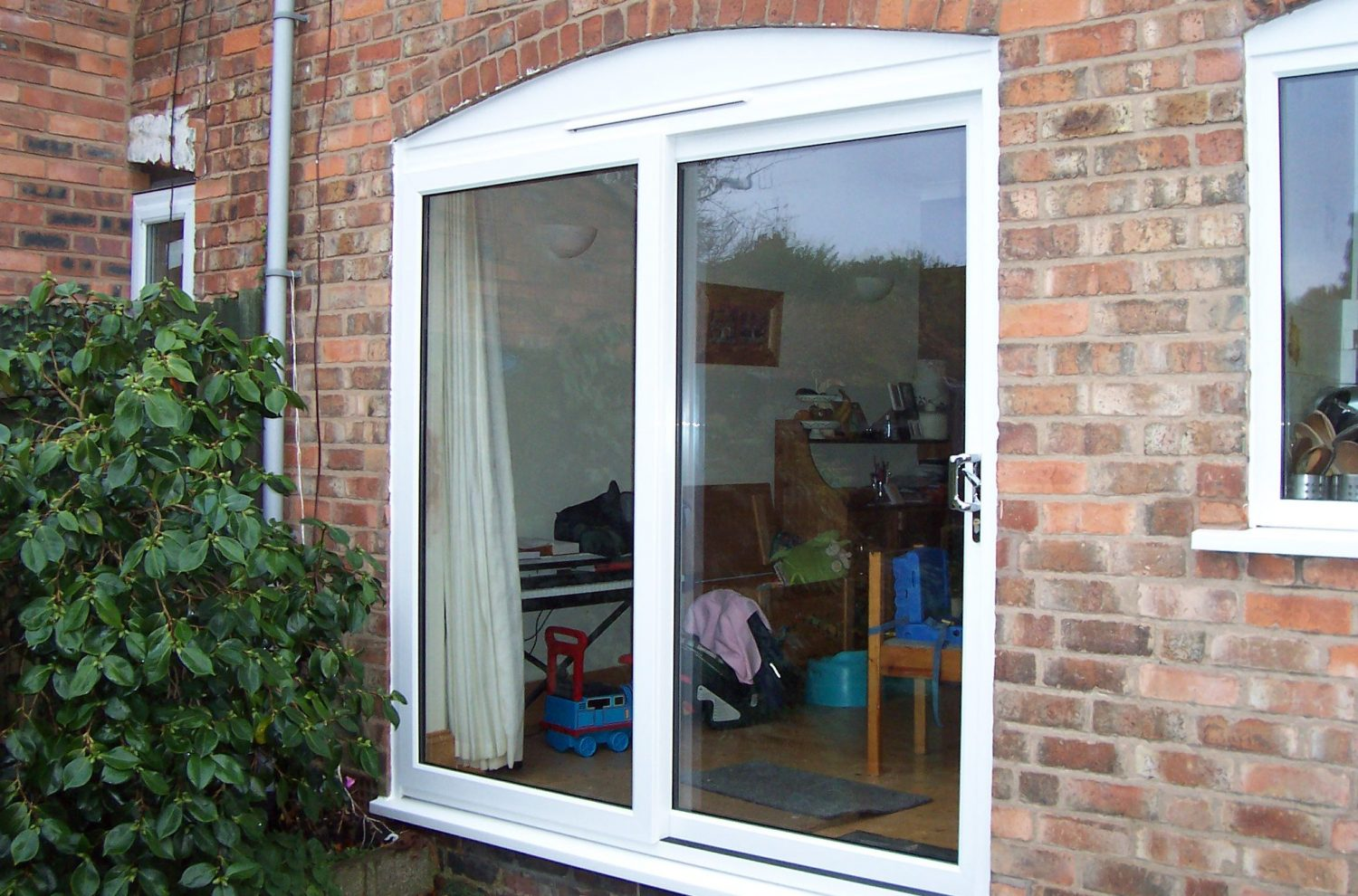 French patio doors with screens entry door photo gallery for Double entry patio doors