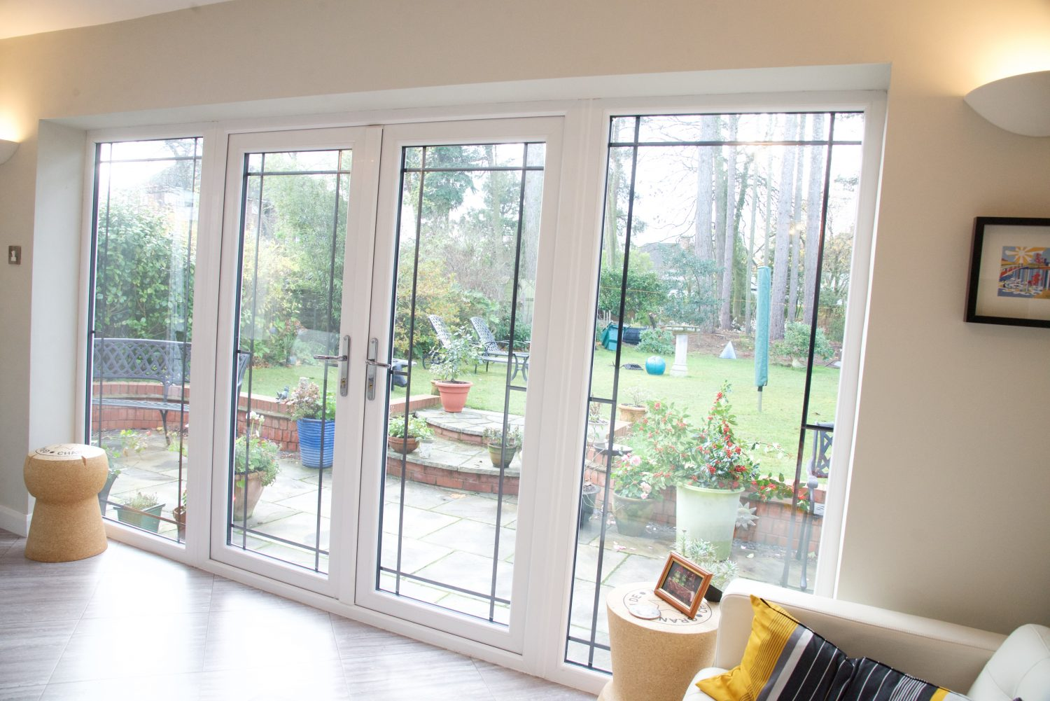 Patio french doors double glazed patio and french for Patio doors with windows that open