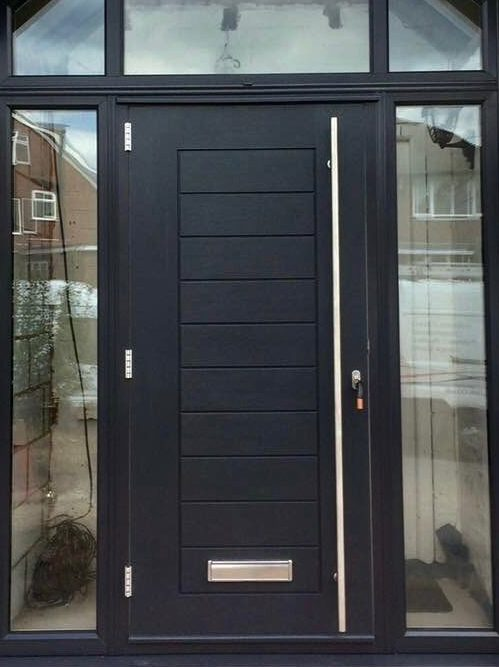 Grey Composite Doors & Grey Composite Doors | Composite Doors UK Modern Composite External ...