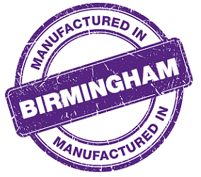 Manufactured In Birmingham Stamp