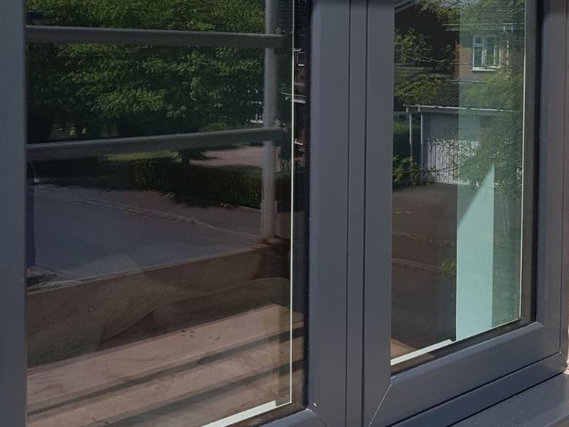 Grey Designer Windows Anthracite Upvc Grey Window Frames